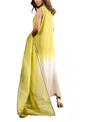 3-piece Yellow Meraki Flamingo Set by Fatima Ashar