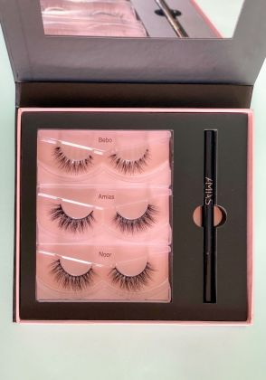 3 Lashes and Gliner Kit by Amia's