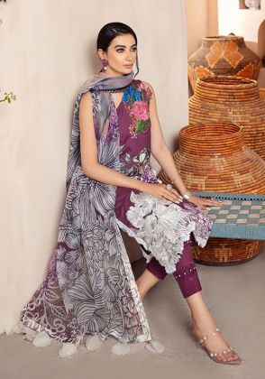 Medow One Shoulder by Asifa Nabeel