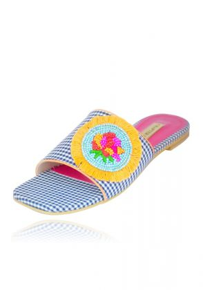 Bohemian Rose Chappal by Chapter 13