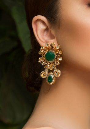 Charlotte Flair Earrings by Rema Luxe