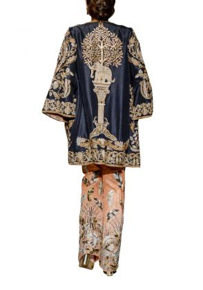Elephant Coat with Jumpsuit by The House of Kamiar Rokni
