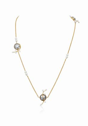 Grey Oasis Necklace by Esfir