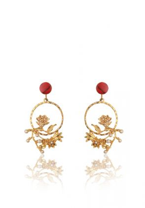 Forbidden Rose Earrings