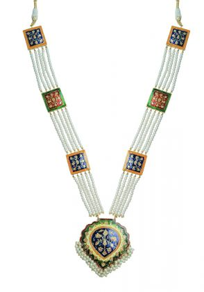 Hand Menakari Long Necklace  by Gorgeous Jew