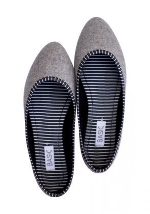 Grey Loafers by Basic by Chapter13