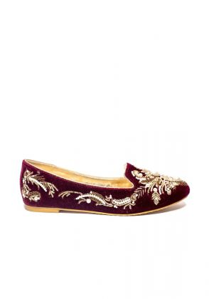 Hand Embroidered Loafer