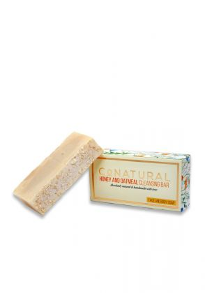Honey And Oatmeal Cleansing Bar (Organic Soap) by Conatural