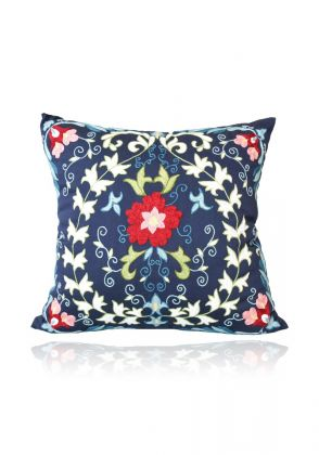 Suzani Blue Sqaure 1 by Indus Heritage Trust