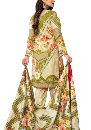 Summer Unstitched Lawn Suit by Iqra Reza