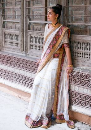 Ivory Sari by Ivy Couture
