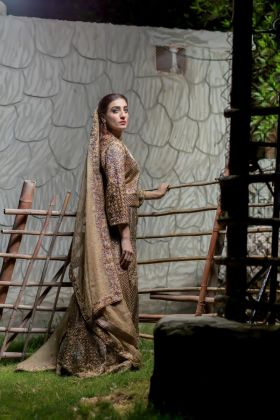 Lehenga Ensemble by Zohaib Qadeer
