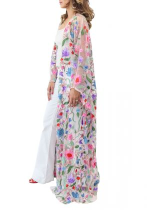 Multi Colour Bisht