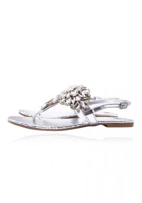 Irina Silver by Nadiya Kassam Shoes