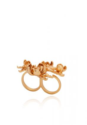 Gebesis Ring in Gold by Opalina