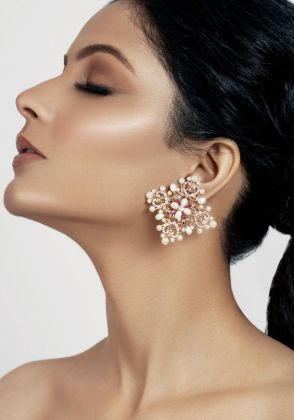 Estere studs by Opalina