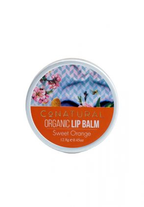 Sweet Orange Lip Balm by Conatural