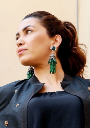 Tassel Earrings by Hina Zafar