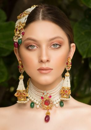 Wedding Roses Earrings by Rema Luxe