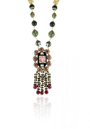 Baroque Pearl Necklace by Hina Zafar