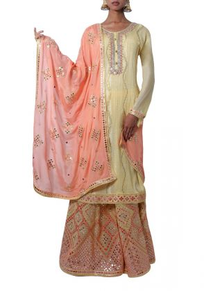 Sharara Set In Georgette by Begum's