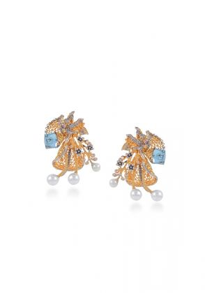 Blue Lakes Studs by Rema Luxe
