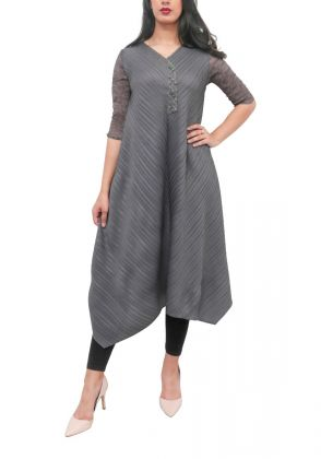 Elegance in Grey by Adagio Couture by SA