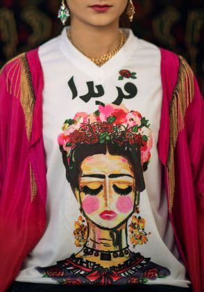Frida Tee by Lahori Ink