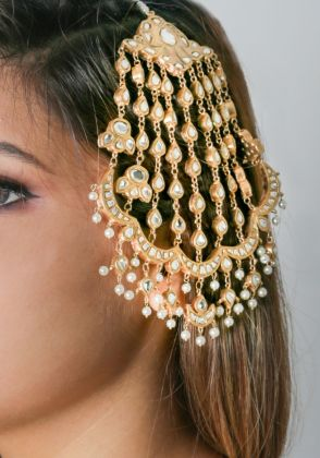 Hand Made Gold Plated Jhoomer by Gorgeous Jew