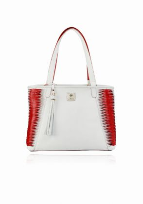 Kalmte-Tote in red/white by Coal