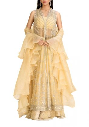 Lemon Gown by Farida Hasan