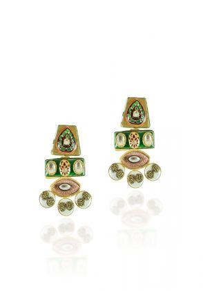 Meena Earrings by Hina Zafar