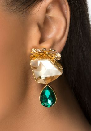 Mystic Ear Studs by Rema Luxe