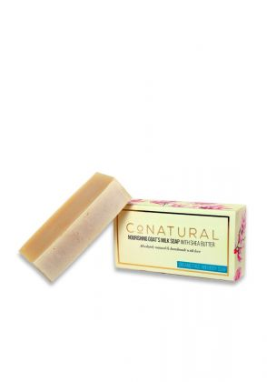 Nourishing Goat's Milk Soap With Shea Butter by Conatural