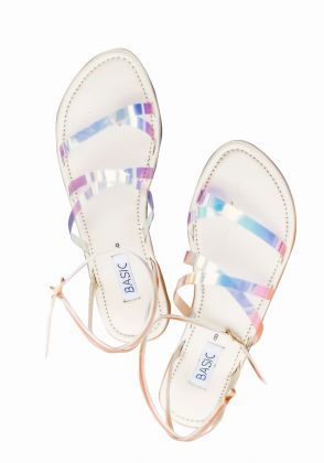 Rainbow Sandals by Basic by Chapter13