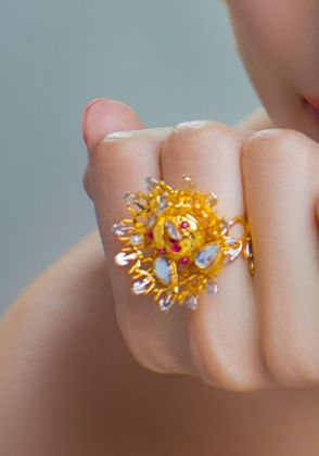 Strawberry Ring by Rema Luxe