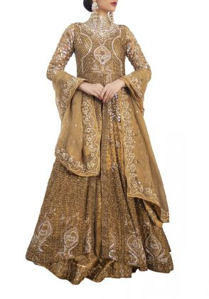 Shehrbano Bridal Golden Galore by Zohaib Qadeer