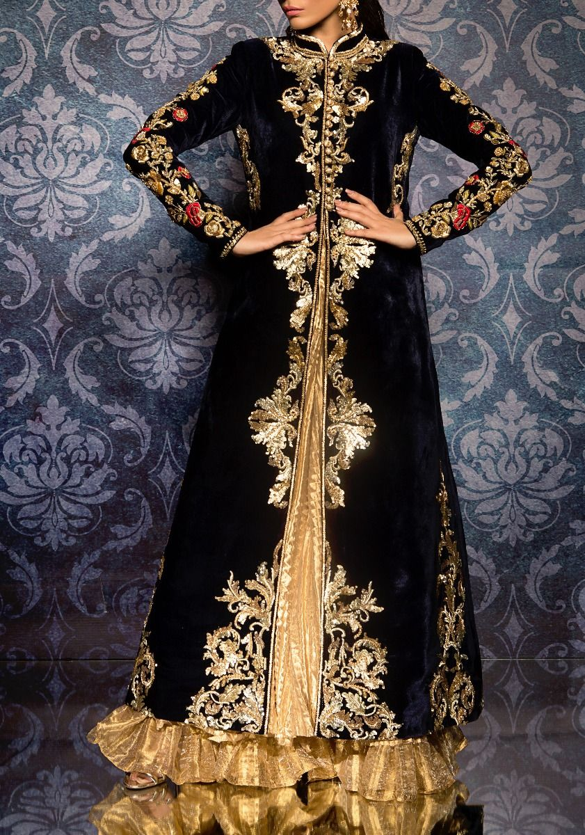 Buy Velvet Jacket On Crushed Tissue Clothing Of Mgt Online At Best Price In Dubai Boulevard One