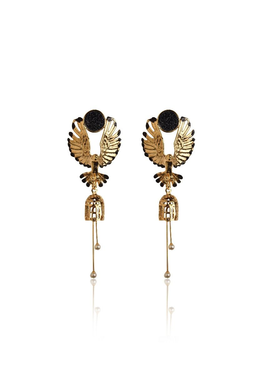 Falcons Fury Earrings