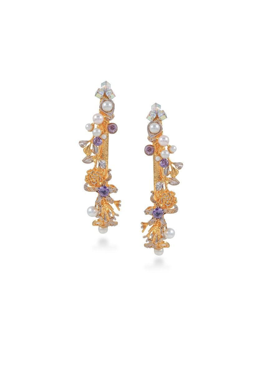 Monet's Waterlilies Earrings