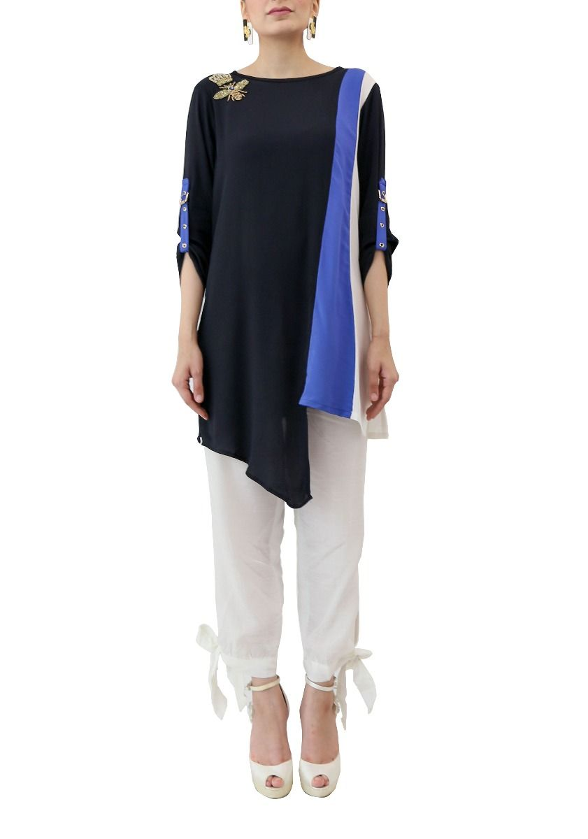 Queen Bee Tunic Blue