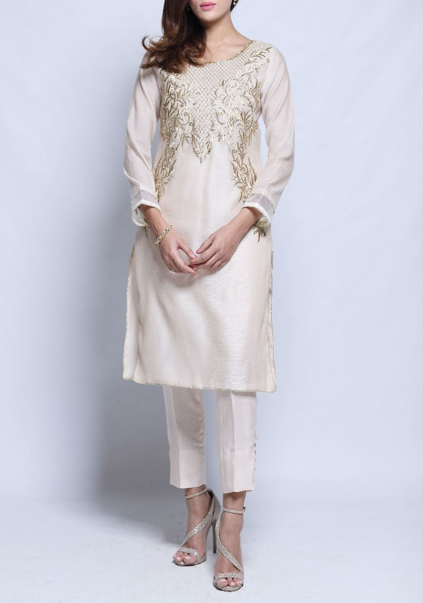 Remy - 2 Piece with Hand Embroidered Cotton Net Top