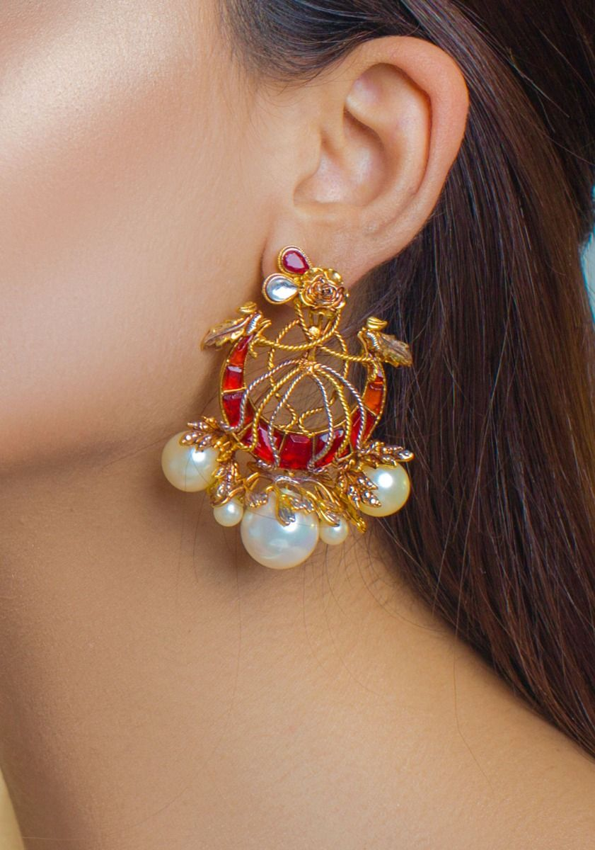 Royal Crest Earrings