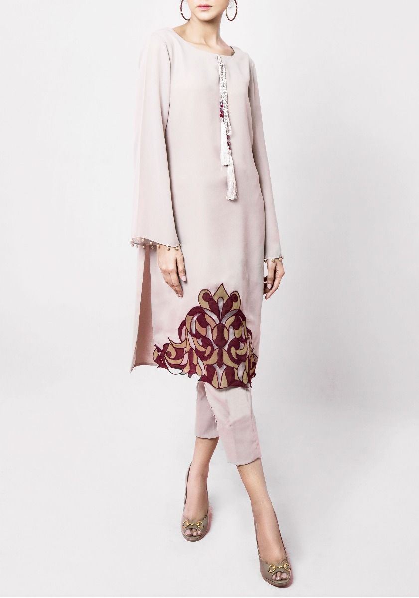 Uma - 2 Piece hand Crafted Straight Silhouette Tunic